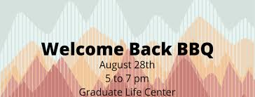 Welcome Back Graphics Welcome Back Bbq Graduate Student Assembly Virginia Tech