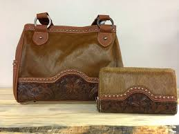 cochair fl tooled purse