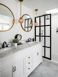 Master Bathroom Design Ideas inspiration for a mid sized modern master doorless shower remodel in san diego with recessed