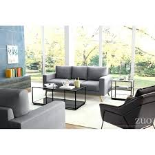 coffee table distressed black zuo modern atlas