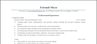 Executive Summary Of Your Resume The Most Important Thing On Your
