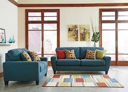 The Living Room Set Buy Sagen Teal Living Room Set By Signature Design From Www