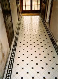 black and white diamond tile floor. Victorian Tiling Black And White Diamond Tile Floor