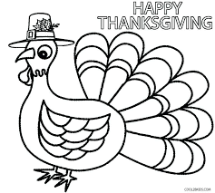 Printable Thanksgiving Coloring Pages Happy 3 Page Free Pdf