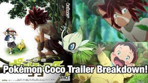 Celebi in Movie 2020! Pokémon Coco revealed! Trailer breakdown! - YouTube