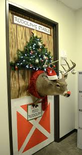 christmas office door decorating. Christmas Office Door Decorating I