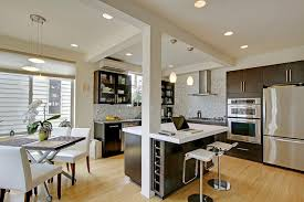 Contemporary Kitchen by The Alhadeff Group