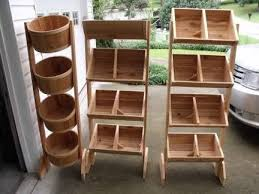 Bakery Display Stands Rustic Wood Farmers Market Basic Display Box Google Search 88
