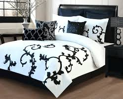 black and white comforter sets queen 9 piece queen ss black and white comforter set 9