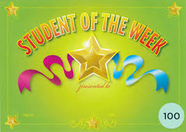 Student Of The Week Merit Certificate Pack Of 100 Cards