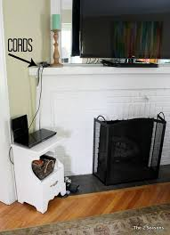cords in living room