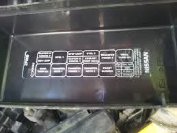 965 2004 Nissan Frontier Fuse Box   Wiring Library