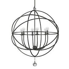 eclipse chandelier english bronze