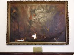 Image result for burnt painting