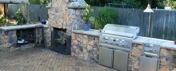 how much will a stone outdoor fireplace cost long island landscaping outdoor fireplace cost