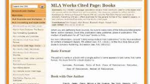 Bibliography websites Avionews Annotated bibliography web article