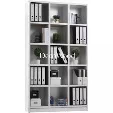 white book rack. Interesting White 15Box Compartment Book Shelf  File Cabinet Storage Filing  Throughout White Rack L