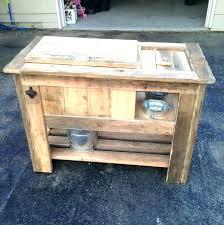 outdoor beverage cooler cart outdoor beverage cooler cart table refrigerator stainless steel cool bar kitchen nightmares