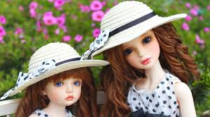 Cute Girl Dolls With Hat HD Doll ...