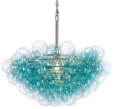 regina andrew design bubbles chandelier aqua contemporary chandeliers