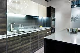 Glossy Black Paint Kitchen Cabinets Edina
