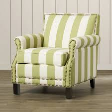 Striped Living Room Chairs Yellow Living Room Chair Exquisite Use Of Sage Green In The