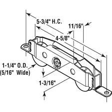 prime line roller assembly 1 1 4 in
