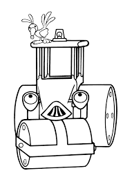 Small Picture Coloring Bob The Builder Coloring Page