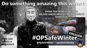 Image result for anonymous winter