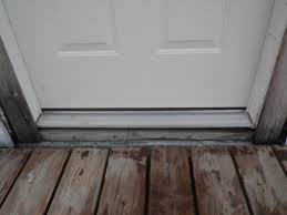 exterior door threshold install. exterior door flashing how to com community forums tofront threshold install a wood on any l