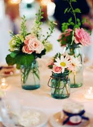 Decorations Using Mason Jars Mason Jar Centerpieces Ideas for wedding reception centerpieces 38