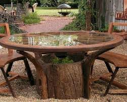 wood stump furniture. An Excellent Option Is To Use Tree Stumps Make Garden Furniture. They Can Be Stools Or Chairs. Carve Out Their Shape In A Style Just The Way You Want. Wood Stump Furniture L