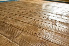 Stamped Concrete Kitchen Floor Similiar Wood Grain Concrete Floors Keywords