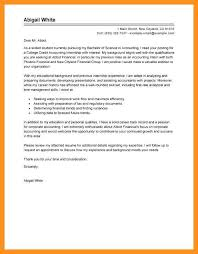 7 8 College Student Cover Letter Example Crystalray Org