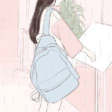 Aesthetic cute drawing Pinterest Aesthetic Pastel Blue Pink Illustration Art Drawing Kawaii Cute School Picsart Loserss Photos Drawings And Gif Pink Aesthetic