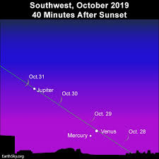 Go Young Moon Hunting In Late October Tonight Earthsky