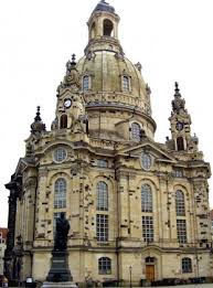 classic architectural buildings. The Church Of Our Lady (Frauenkirche), Dresden, Germany. This Masterpiece Is Classic Architectural Buildings G