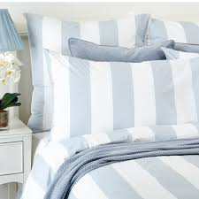 lille quilt cover set in chalk blue