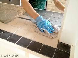 Kitchen Tile Countertop Livelovediy How To Paint Tile Countertops