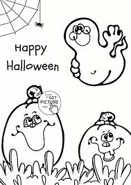 Cute Halloween Coloring Pages For Kids Elegant Ghost Drawing At