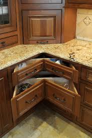 Inside Kitchen Cabinet Filekitchen Cabinet Corner Design Showing Turntable Inside With