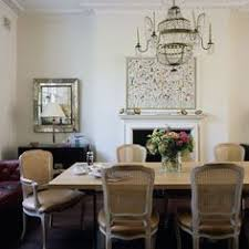 love the painting interior design by rita konig dining room