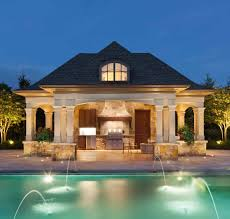 pool house kitchen. Outdoor Kitchen In Pool House French Style