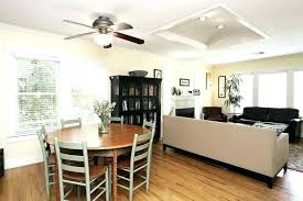 recessed lighting with ceiling fan fans lights dining converting to c