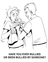 Coloring Stop Bullying Coloring Pages