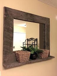 wood wall mirrors. Delighful Wall Large Wood Mirror Wall Majestic Mirrors Rustic  Pallet Furniture Home   To Wood Wall Mirrors W