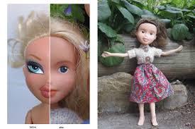 mum gives bratz dolls amazing makeunder