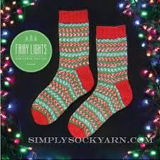 Fairy Lights Sock Kit Wys Fairy Lights 849