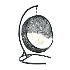 outdoor swing chair with stand duncombe egg shaped outdoor swing chair with stand