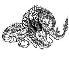 イラスト素材 辰のイラスト 600 龍のカット素材 Naver まとめ